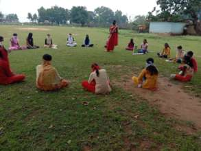 Session at Lok Prerna Kendra, Jharkhand