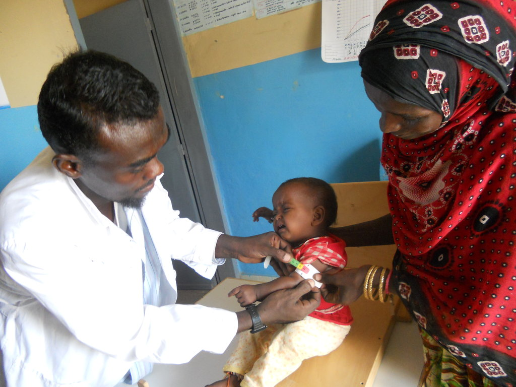 FoodSecurity for 523 malnourished children,Eritrea