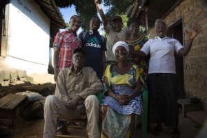 Comfort, a nurse and survivor of Ebola in Liberia