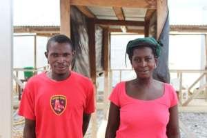 Adama and her nephew, Alhaji