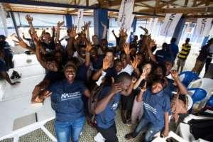 Our teams work with local Ebola survivors