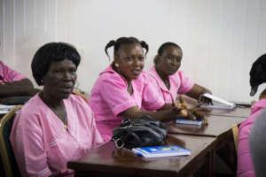 Training in Port Loko District of Sierra Leone