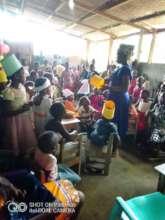 End-of-year party at Mah Di's Orphanage