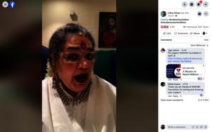 Snippet from Padma Shri Usha Uthup Concert