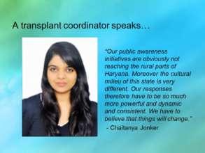 A transplant coordinator speaks...