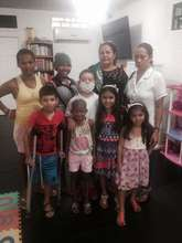 Children an their mothers at our foster home
