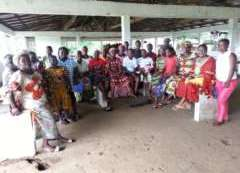 Mayor Christine Norman and the Women of Bentol