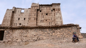 Renovation of the Kasbah into a library is beginning.