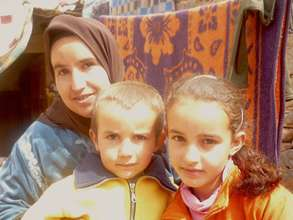 Fadma Aiit Moha and her family.