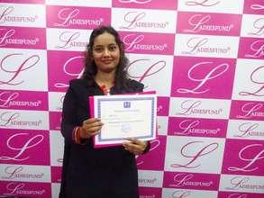 Congratulations to Hasbunnissa Sheikh!