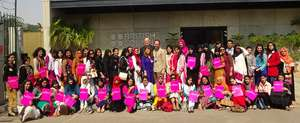 Top Educate a Girl Students at British Council