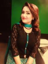 Jaweria as News Anchor today