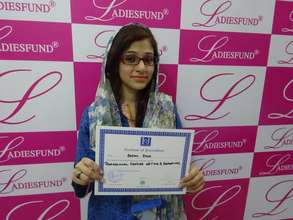 Congratulations to Sarah Raza Scholar #147!