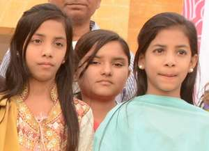 Give a teddy to these special needs girls!