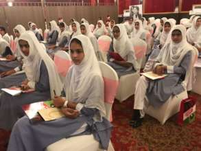 Educate a Girl scholars learning