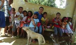 AAI Nurse Faith at Carataya Elementary, Capiz,