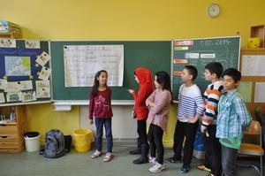 Project week in primary school in Berlin