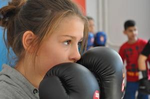 Children acquire various skills through boxing.