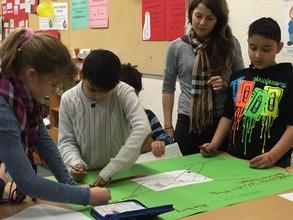 Participants create their own maps