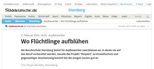 RespAct in Sueddeutsche Zeitung