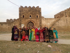 Girls at the Rohtas Fort