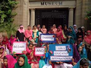 Outside the museum at Taxila
