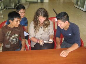 Spanish Class with Teacher Christy - Volunteer