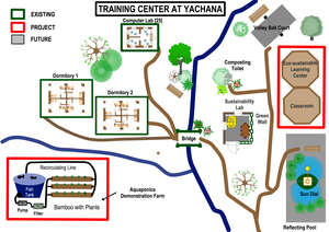 Campus Map Yachana Training Center