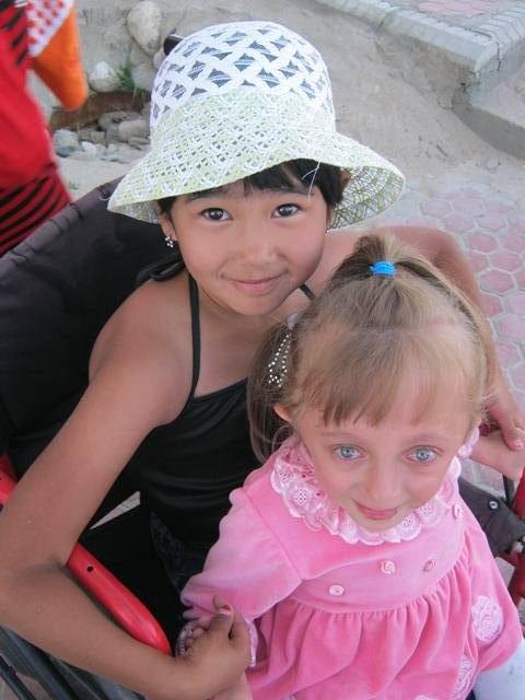 Playgrounds for disabled children in Kyrgyzstan