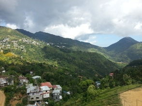 View from the Safe Home in Aizawl, Mizoram