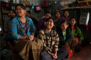 Smiling faces from Mizoram