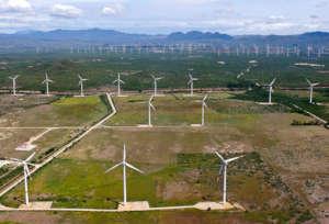 Wind Farms Near Juchitan