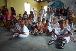 Capoeira Class, part of Brazilian Heritage