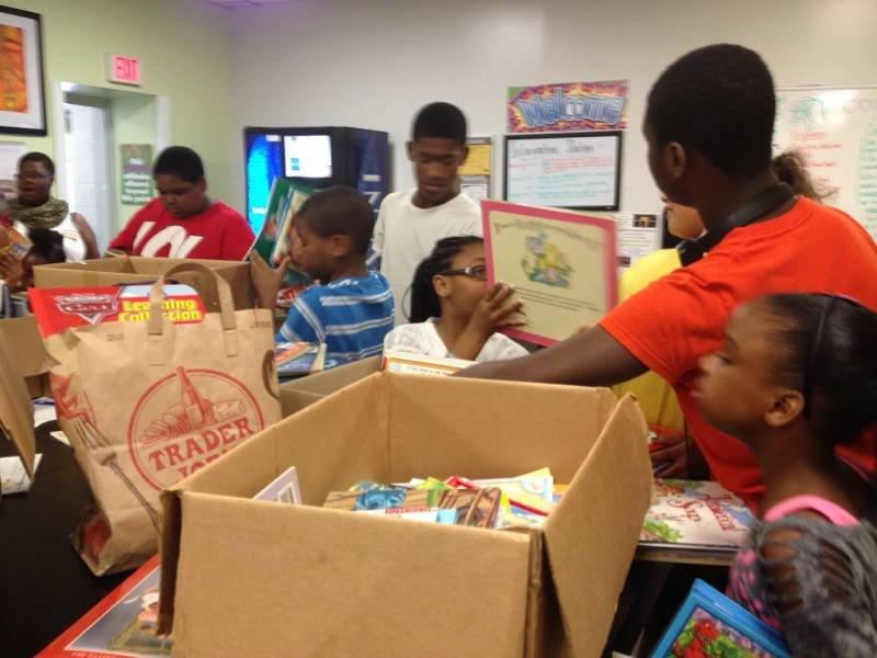 Provide books to Underprivileged Children in US