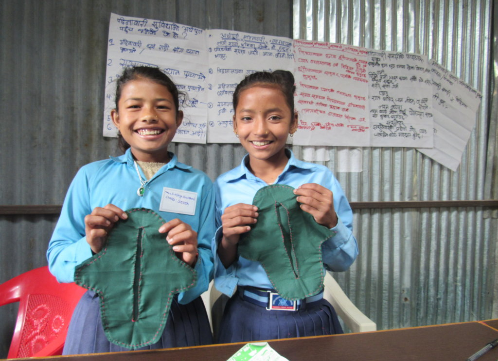 Menstrual Hygiene Management in schools of Nepal