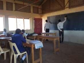 A Class at Gordon Clem Academy