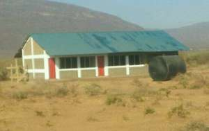 The first two classrooms at Gordon Clem Academy