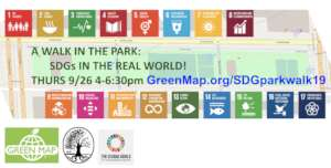 Sept 26, experience the UN SDGs in a great park!