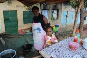 Mama Beyonce's stall & Business