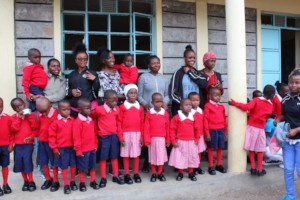 Our students get great joy giving back to the kid