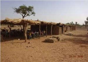Village-built primary school