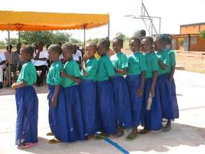 Young girls at NEEED's 2007-08 ceremonies