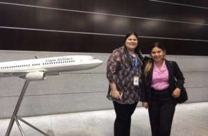 Student as Intern in Copa Airlines