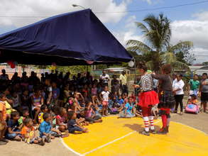 Day of Colors for children in Felipillo