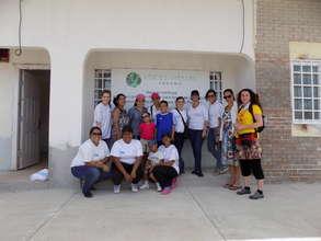 Vital Voices Team and TCU Volunteers
