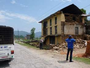 Aftermath of  Nepal's Earthquake