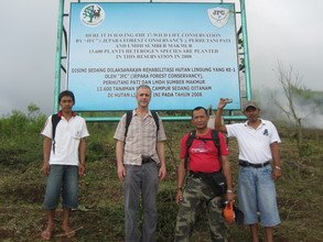 The JFC crew at their reforesation site