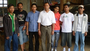 Students who completed the organic agro-forestry program