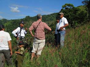 Sabtono, Adi, Paisan, Agus and Tim at the JFC site