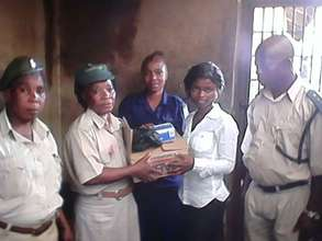 Bo Paralegal with Prison officers